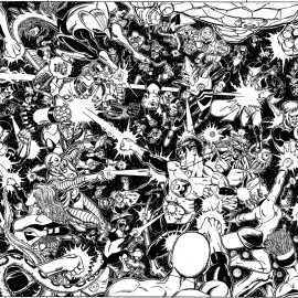 War-of-Green-Lanterns-Triptych-George-Perez